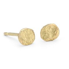 Small Flattened Nuggets 18ct Gold