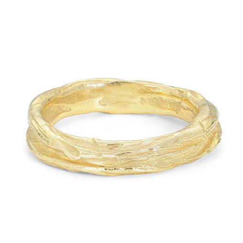 Ripple Medium 18ct Gold