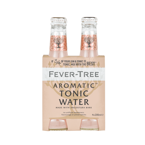 Aromatic Tonic Water | 200 ml 4-Pack