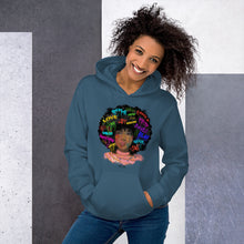 Pretty Afro Girl Unisex Hoodie