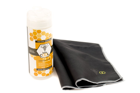 beeCool Cooling Towel - Black