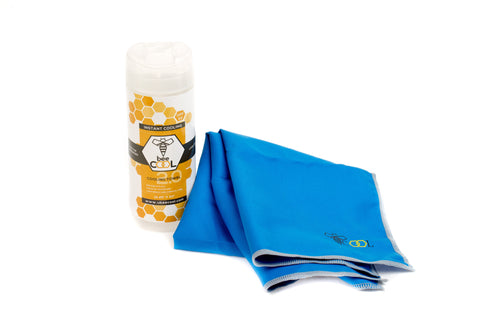 beeCool Cooling Towel - Blue