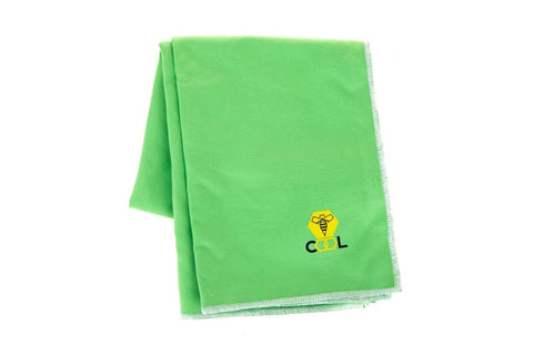 beeCool Cooling Towel - Green