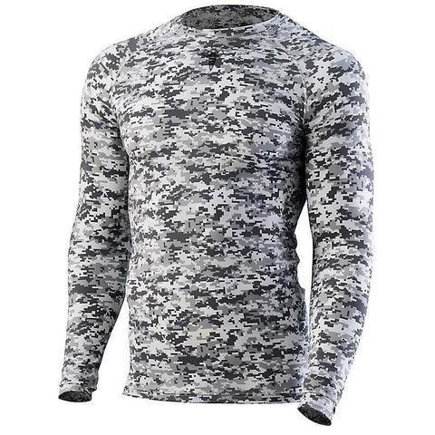 Youth Digital Camo Compression Tee