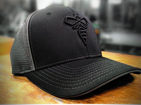 beeCOOL HOOT (Black Logo) flex-fit hat