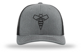 Pre-Order 112 beeCOOL Heather Gry/Blk (bee blk)