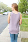 Purple Basic Tank Top