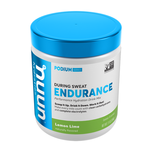 A canister of Nuun Endurance