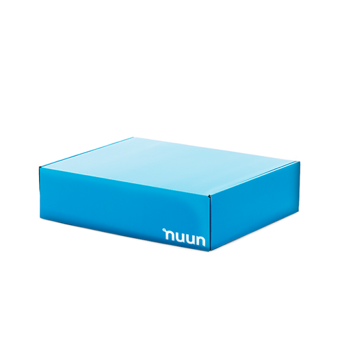 A Nuun-branded delivery box