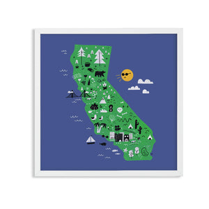 California Map - Katie Lukes - Mapsy