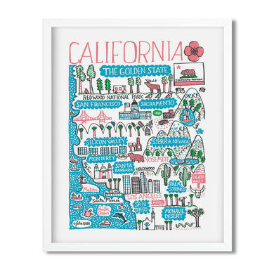 California, USA - Julia Gash - Mapsy
