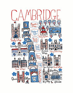 Cambridge, UK - Julia Gash - Mapsy