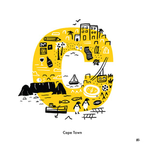 Cape Town, South Africa - Katie Lukes - Mapsy