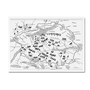 Cairngorms National Park Map - Dan Bell - Mapsy