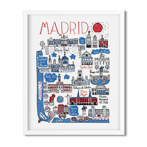 Madrid, Spain - Julia Gash - Mapsy