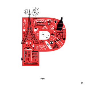 Paris, France - Katie Lukes - Mapsy