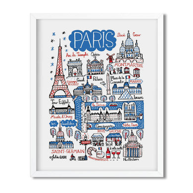 Paris - Julia Gash - Mapsy