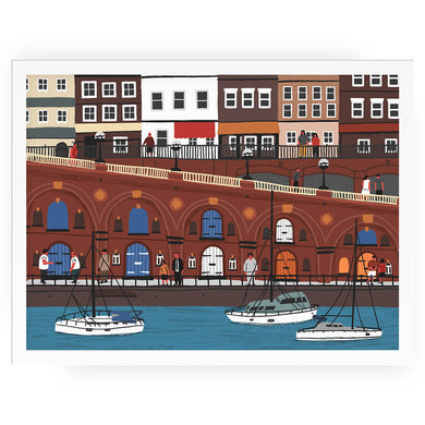 Ramsgate harbour print - Alex Foster - Mapsy
