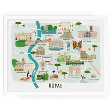 Rome Map - Alex Foster - Mapsy
