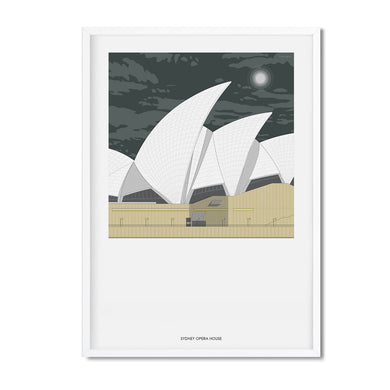 Sydney night print - Amalia Sanchez