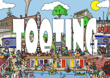 Tooting london art print