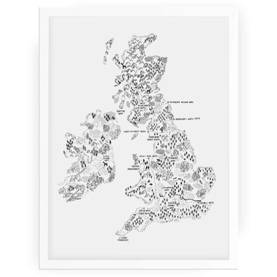 Walk the UK & Ireland - Alex Foster - Mapsy