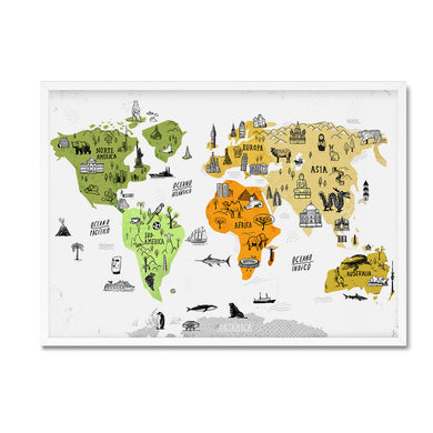 World Map - Mathias Sielfeld - Mapsy