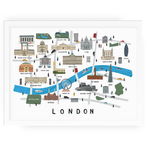 London Map - Alex Foster - Mapsy