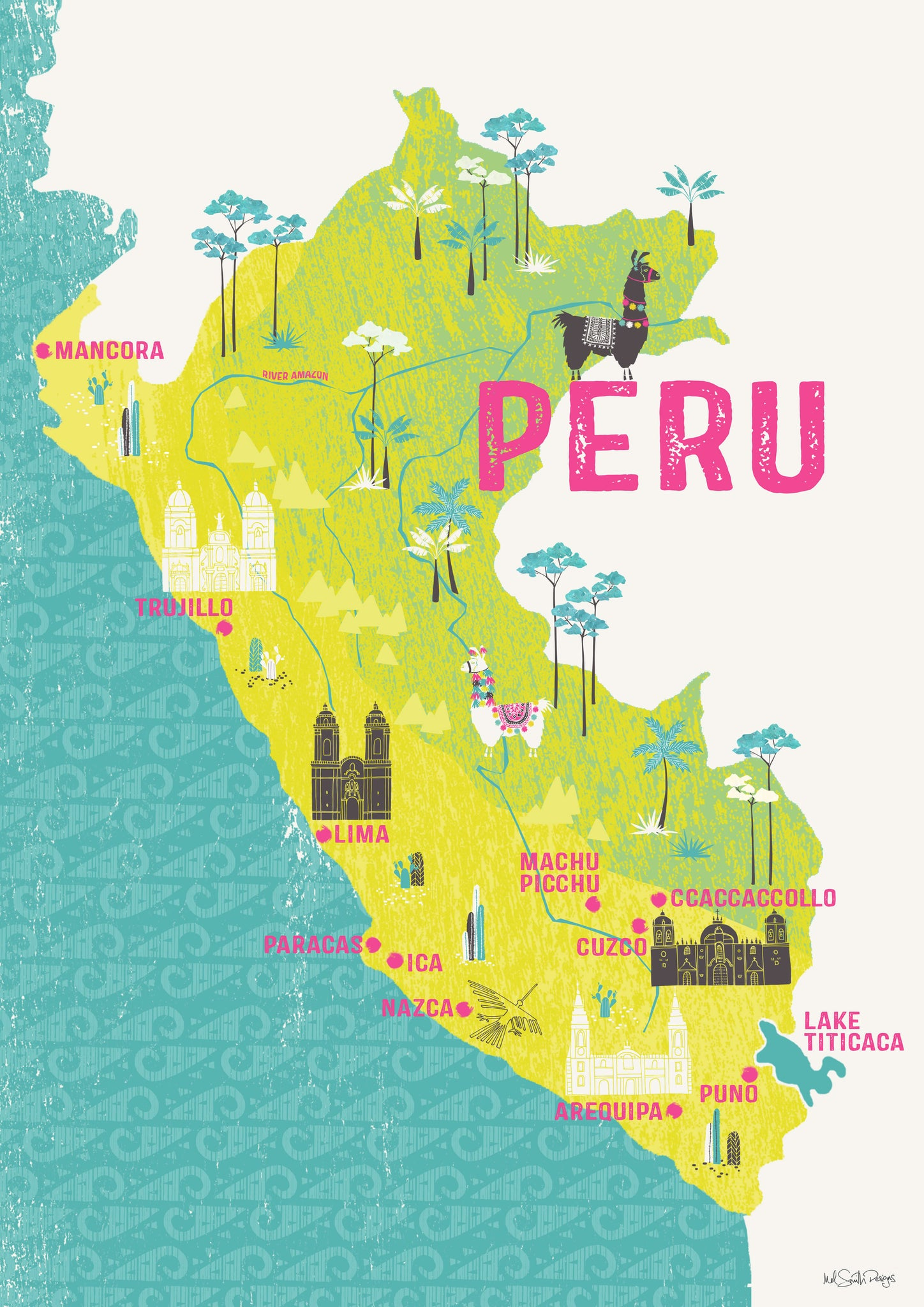 It's just an image of Dynamic Printable Map of Peru