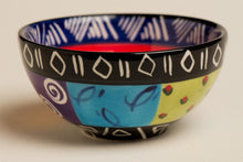 South African Multi Ethnic Ceramic Bowl