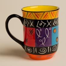 South African Multi Ethnic Ceramic Mug