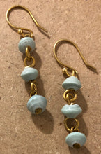 Sky Blue Moon Earrings