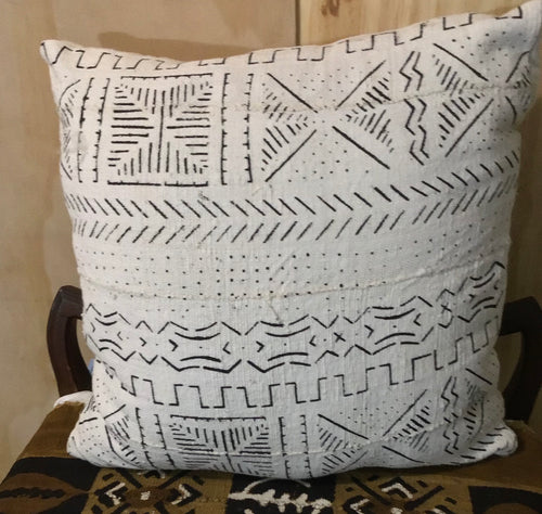 Genuine Mudcloth pillows