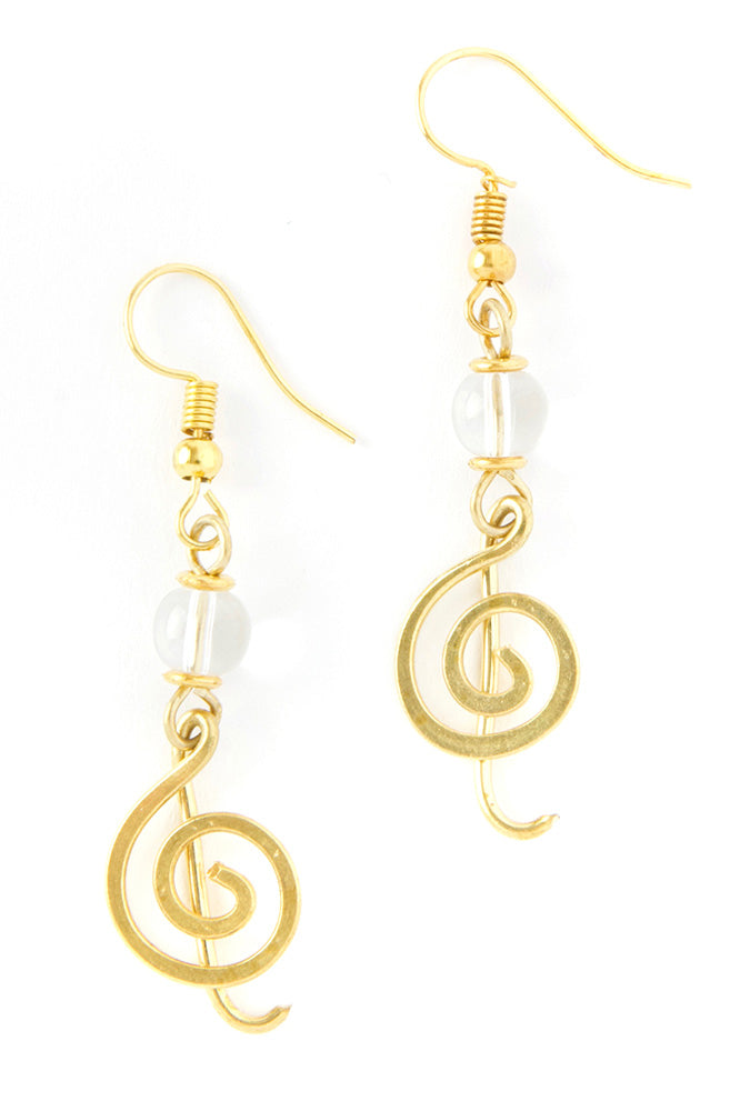 The Music- Handmade Kenyan Earrings