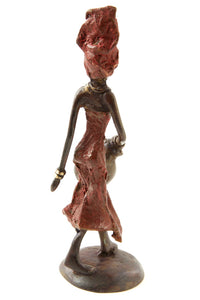 Burkina Bronze - The Water Bearer