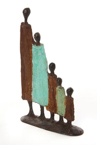 Burkina Bronze- The Family