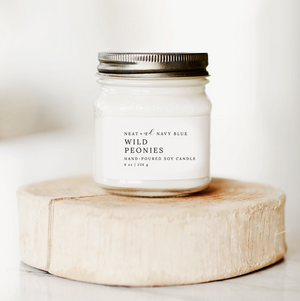 Wild Peonies | 8 oz Soy Candle