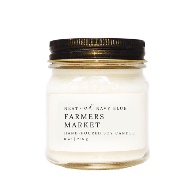 Farmers Market | 8 oz Soy Candle