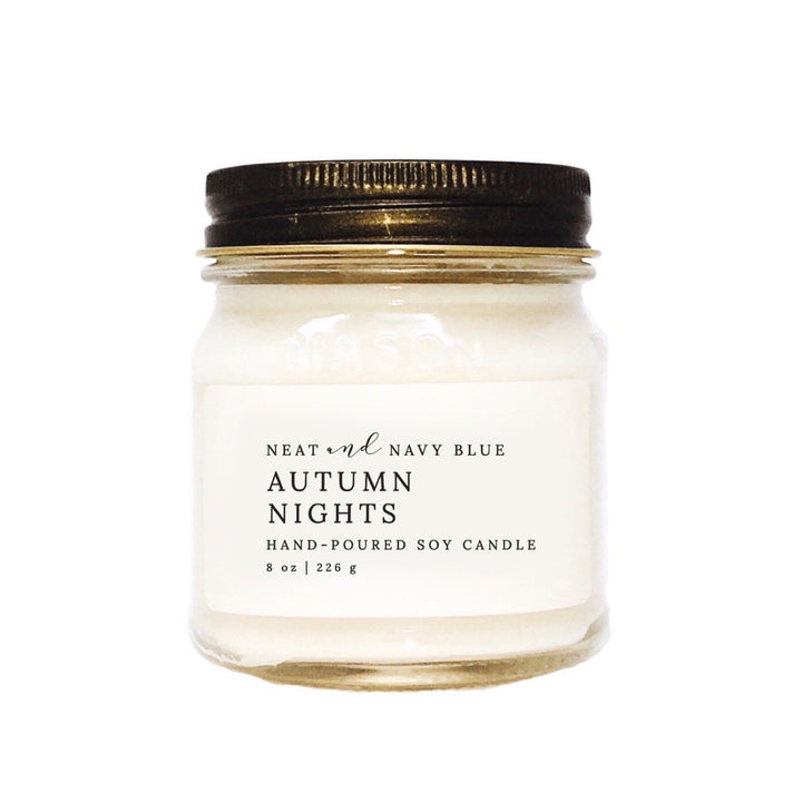 Autumn Nights | 8 oz Soy Candle