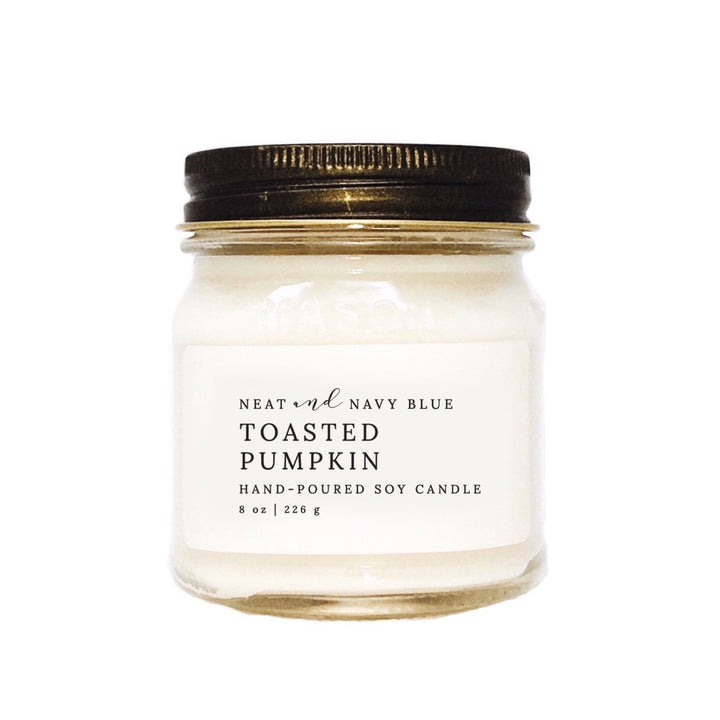 Toasted Pumpkin | 8 oz Soy Candle