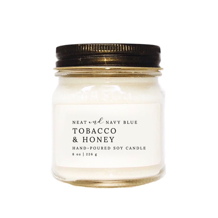 Tobacco & Honey | 8 oz Soy Candle
