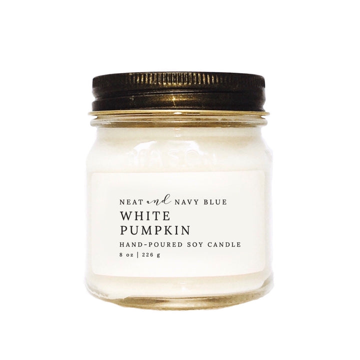 White Pumpkin | 8 oz Soy Candle