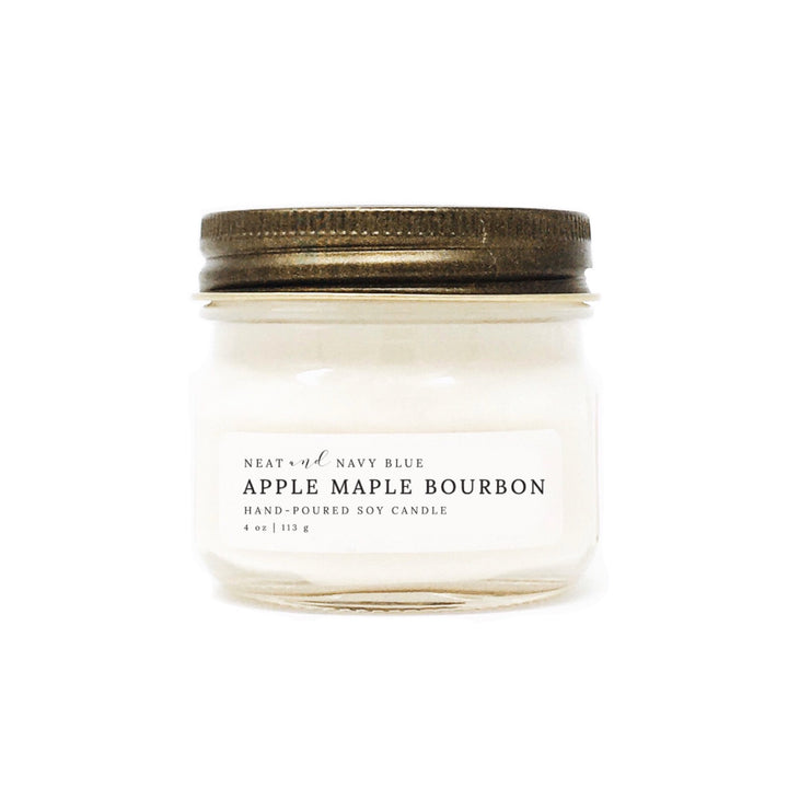 Apple Maple Bourbon | 4 oz Soy Candle