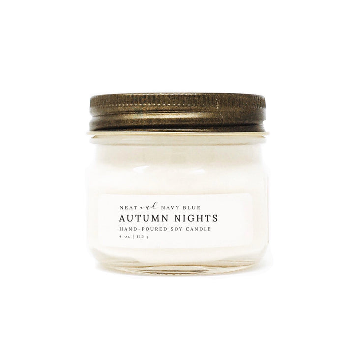 Autumn Nights | 4 oz Soy Candle