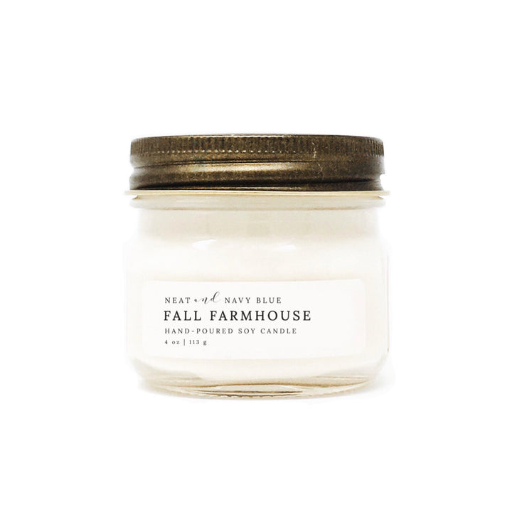 Fall Farmhouse | 4 oz Soy Candle