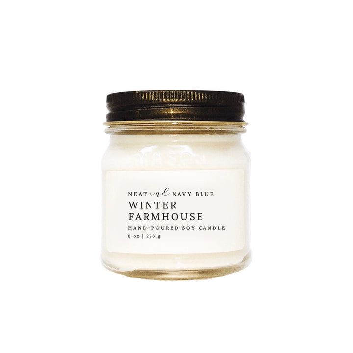 Winter Farmhouse | 8 oz Soy Candle
