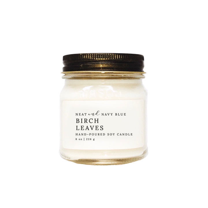 Birch Leaves | 8 oz Soy Candle