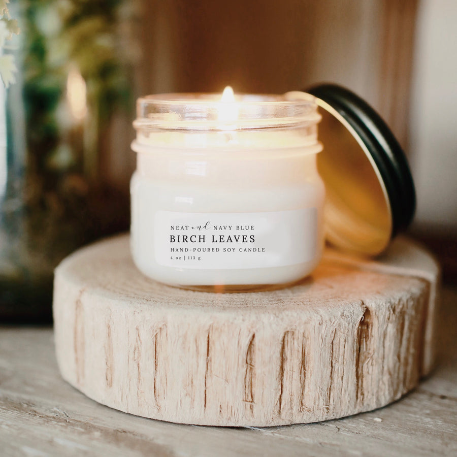 Birch Leaves | 4 oz Soy Candle