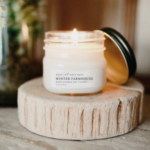 Winter Farmhouse | 4 oz Soy Candle