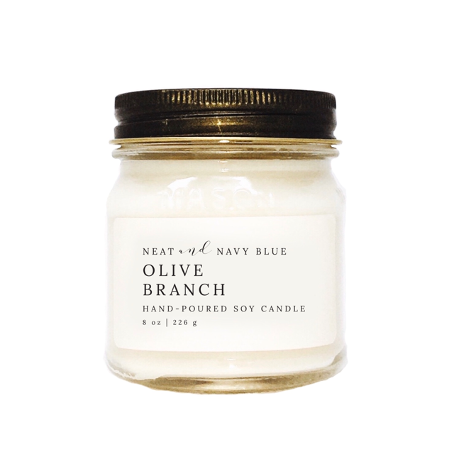 Olive Branch | 8 oz Soy Candle